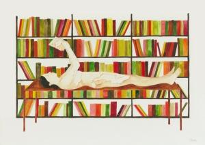 01 Serie-Las-Derivas-de-Oriana.-Mapa-de-viaje, acuarela sobre papel, 30 x 42 cm, 2009