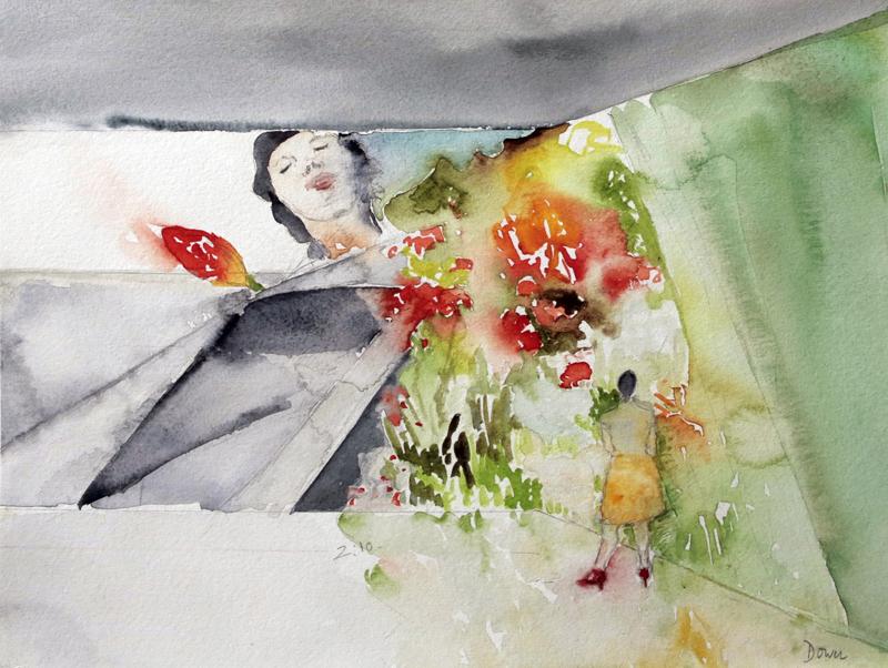 04 Ever is over all de Pipilotti Rist, acuarela sobre papel,25 x35 cm, 2010 .jpg