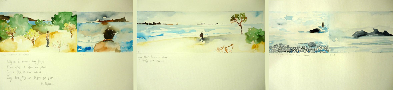 25 Flujos de Manuel de la Ribera. Acuarela sobre papel, 38x144 cm, 2012.jpg