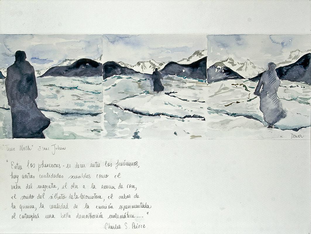 26  True North,  Isaac Julien, acuarela sobre papel, 36 x48 cm,2012 .jpg
