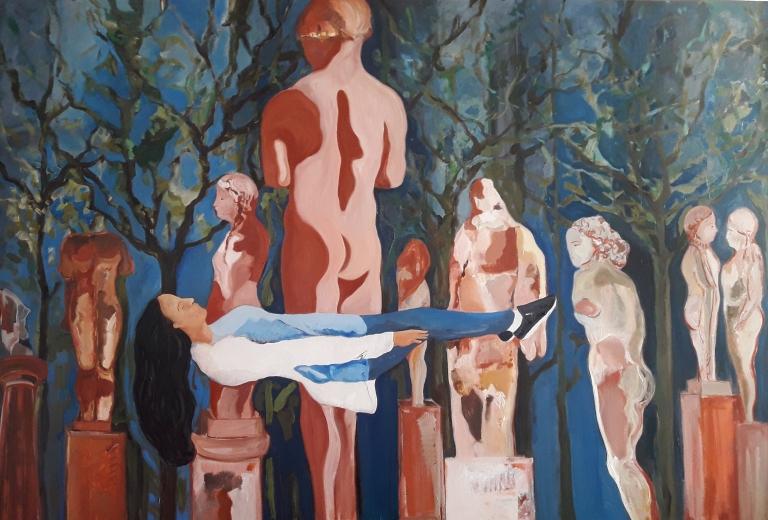 Mónica Schnadower Levy, Mónica Dower, Entre Ruinas II, acrílico sobre tela, 120 x180 cm, 2018.jpg